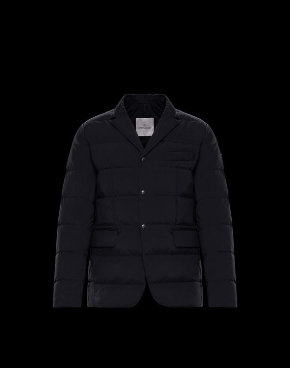 MONCLER HELIERE MENS OUTERWEAR Blue