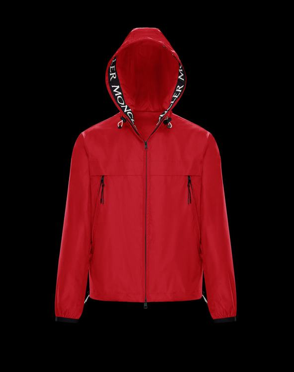 MONCLER MASSEREAU MENS OUTERWEAR Red