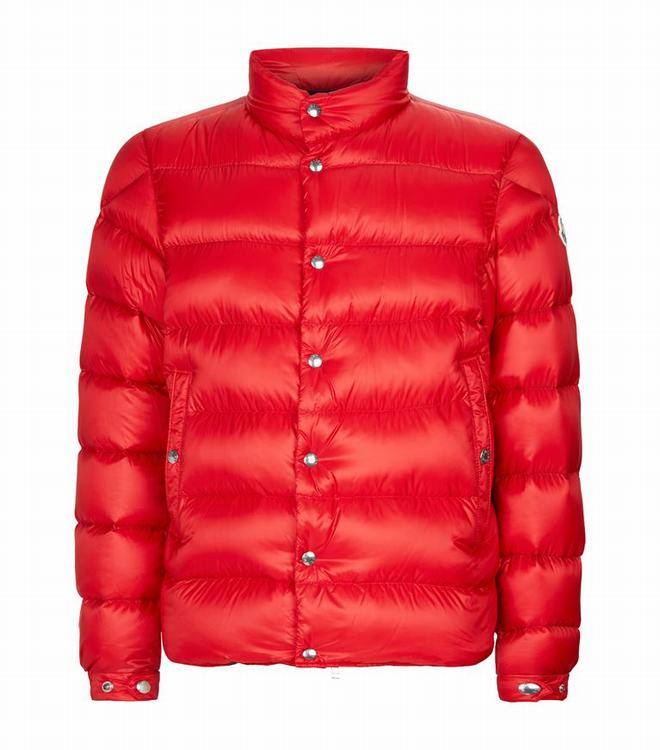 MONCLER PIRIAC MENS OUTERWEAR Red
