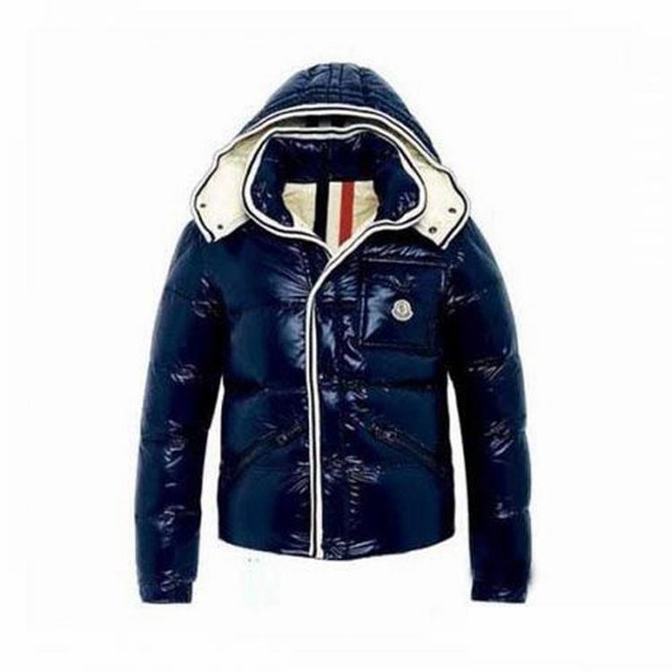 Moncler Barnson Kids Jacket Blue