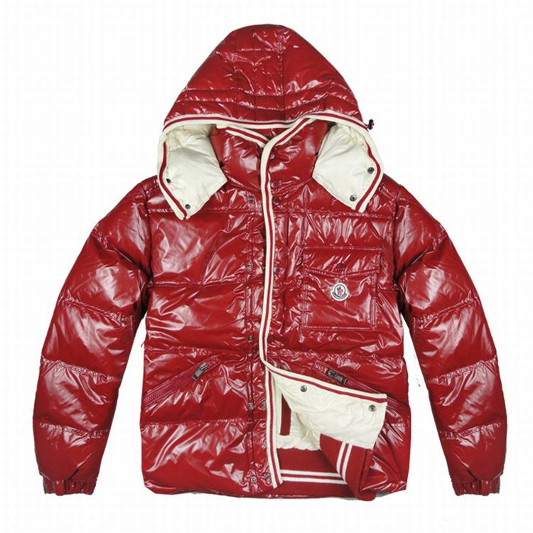 Moncler Barnson Kids Jacket Chinese Red