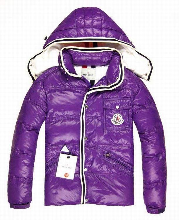 Moncler Barnson Kids Jacket Purple