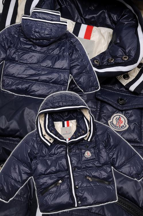 Moncler Branson 01 Kids Jacket Blue