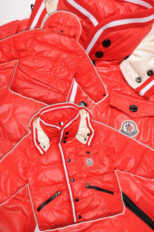 Moncler Branson 01 Kids Jacket Orange