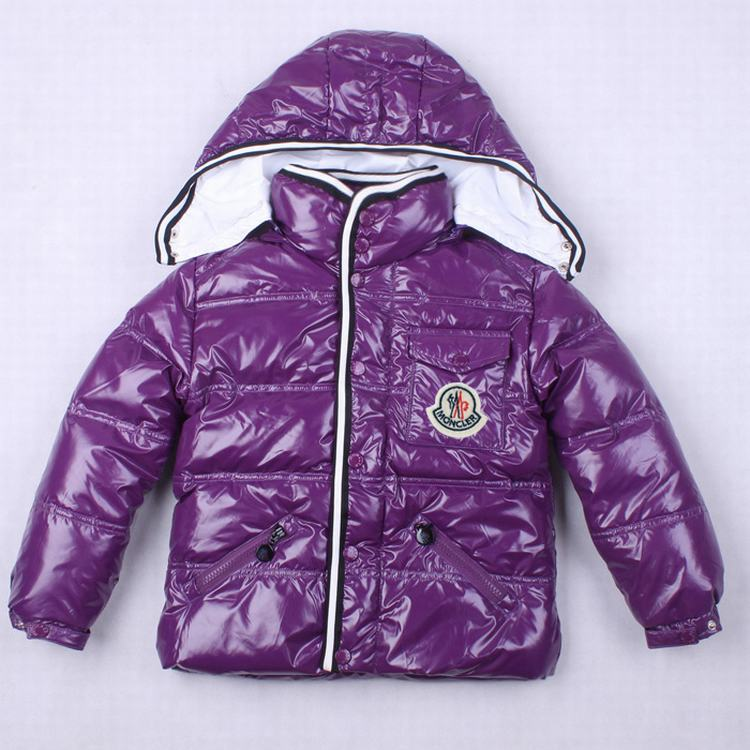 Moncler Branson 01 Kids Jacket Purple