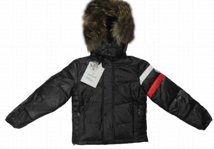 Moncler Chamonix Kids Jacket Black