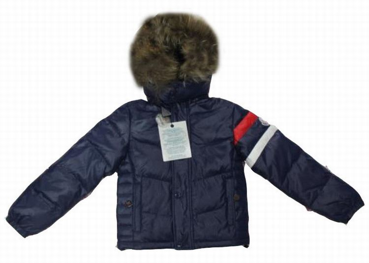 Moncler Chamonix Kids Jacket Blue