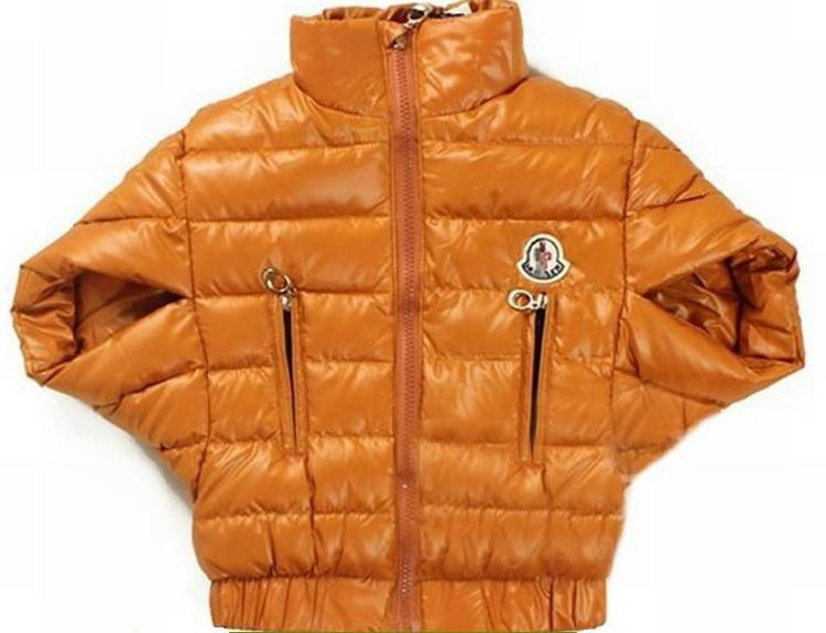 Moncler Cloak Kids Jacket Orange