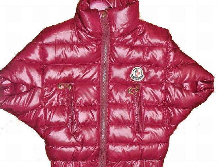 Moncler Cloak Kids Jacket Red