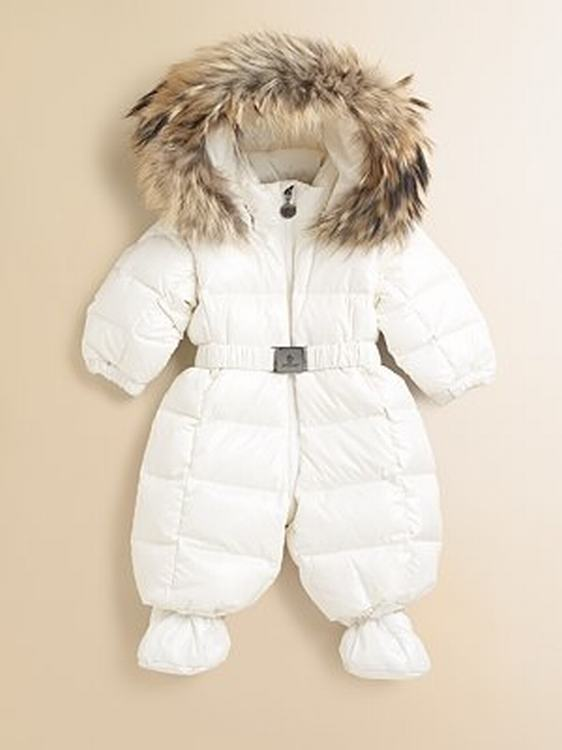 Moncler Crystal Kids Suits White