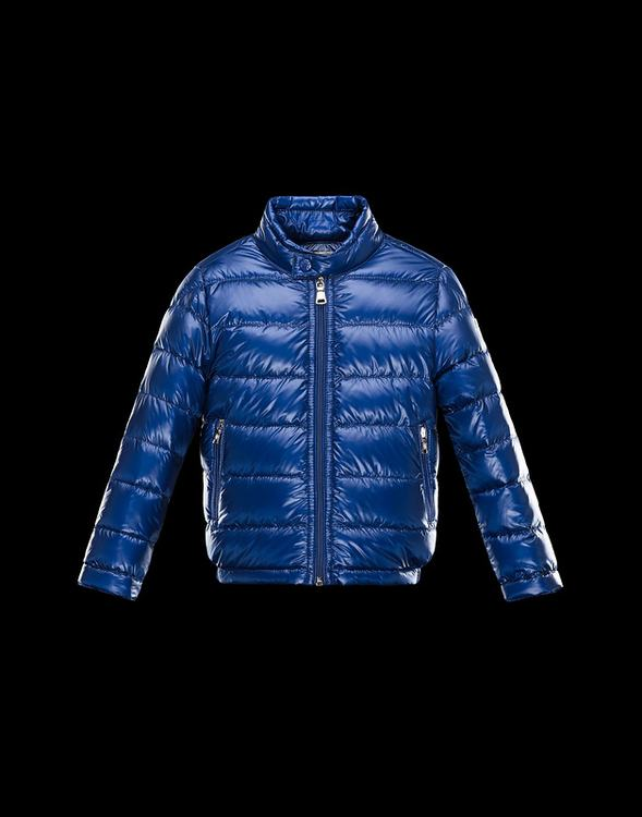 Moncler Enfant Acorus Kids Jacket Blue