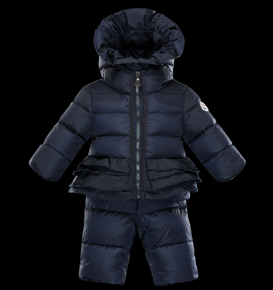 Moncler Enfant All In One Kids Suits Blue