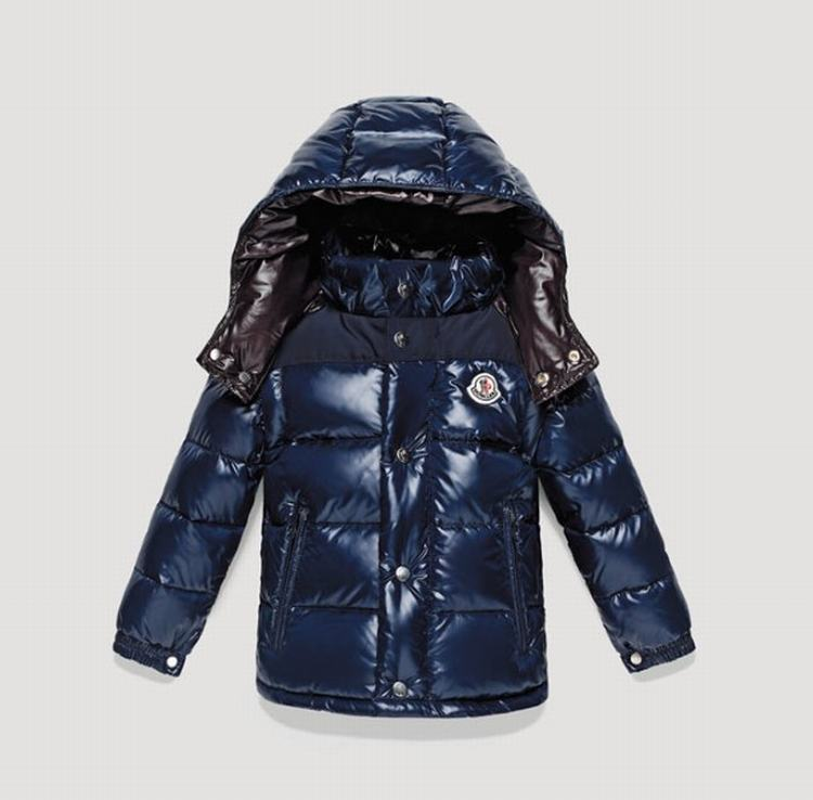 Moncler Enfant Amandes Kids Jacket Blue