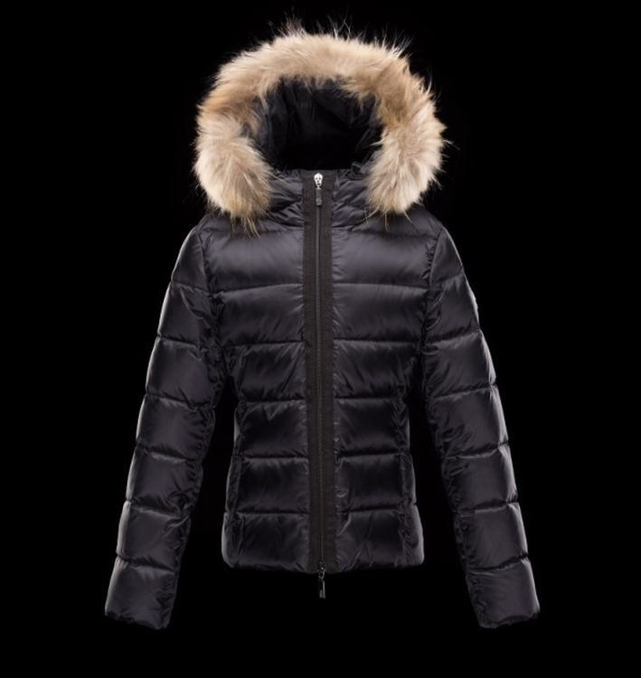 Moncler Enfant Angers Kids Jacket Dark Blue