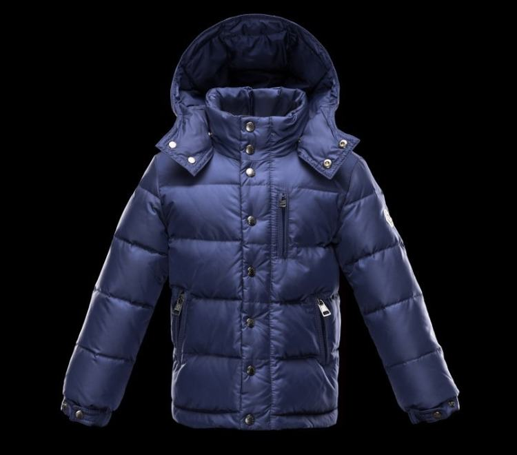 Moncler Enfant Arc Kids Jacket Blue