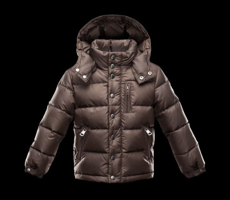 Moncler Enfant Arc Kids Jacket Brown