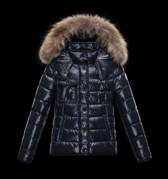 Moncler Enfant Armoise Kids Jacket Dark Blue