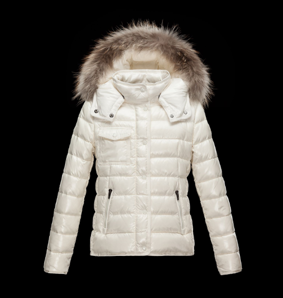 Moncler Enfant Armoise Kids Jacket White