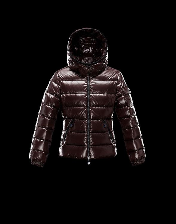 Moncler Enfant Bady Kids Jacket Red Brown