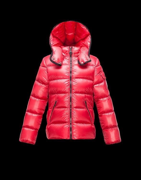 Moncler Enfant Bady Kids Jacket Red