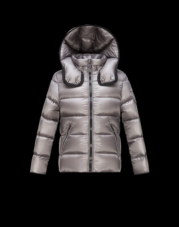 Moncler Enfant Bady Kids Jacket Silver Grey