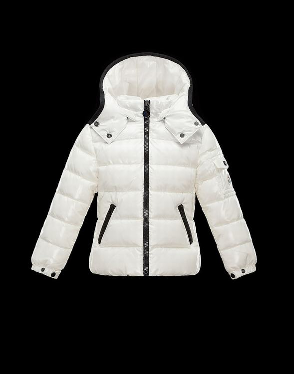 Moncler Enfant Bady Kids Jacket White