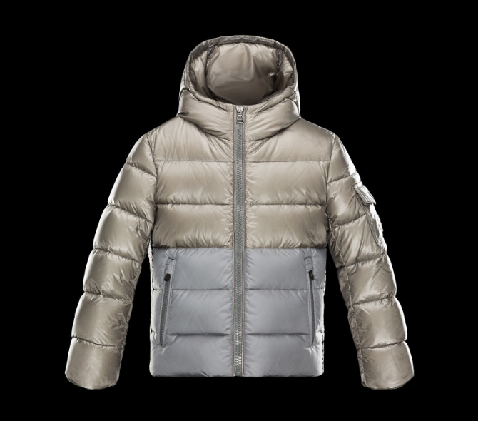 Moncler Enfant Berenger Kids Jacket Gold Silver
