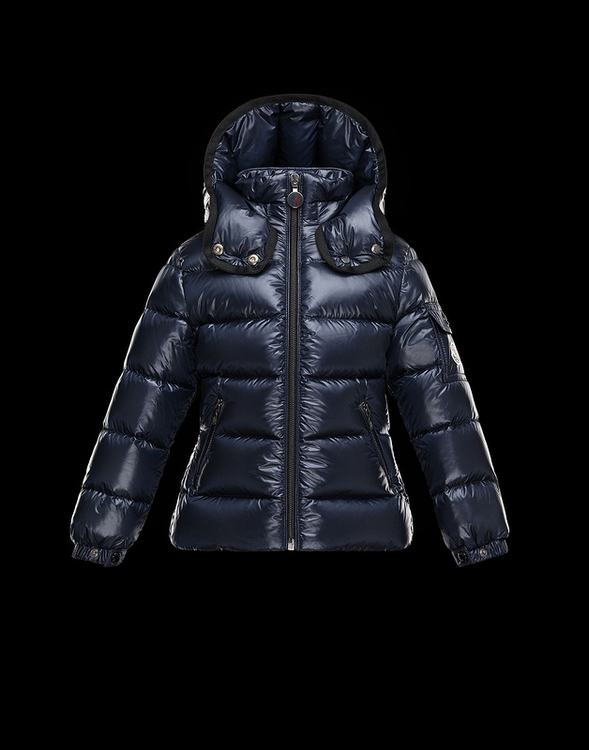 Moncler Enfant Berre Kids Jacket Dark Blue