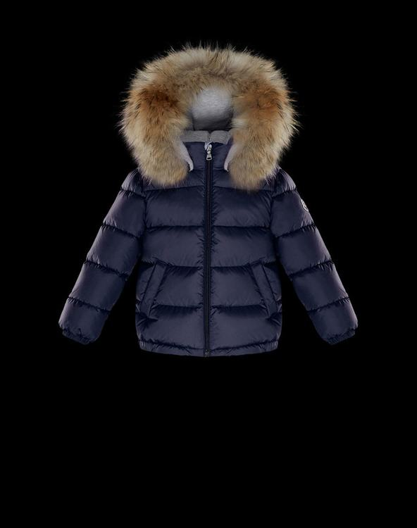 Moncler Enfant Bulgare Kids Jacket Blue