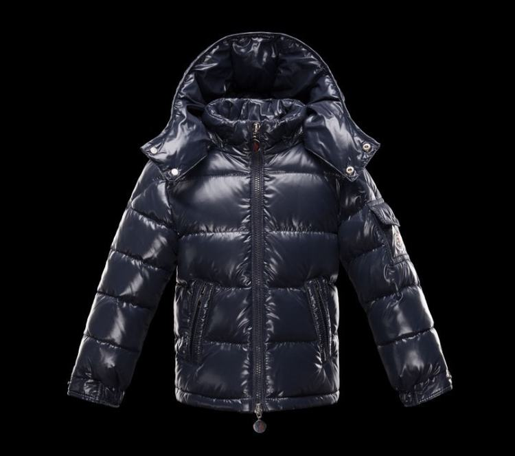 Moncler Enfant Bulgare Kids Jacket Dark Blue