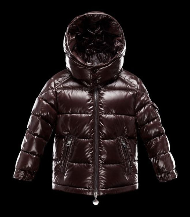 Moncler Enfant Bulgare Kids Jacket Red Brown