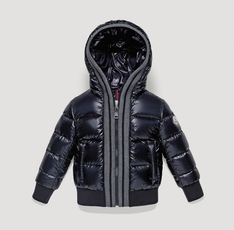 Moncler Enfant Cedric Kids Jacket Dark Blue