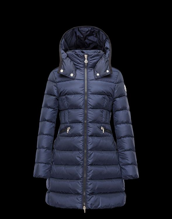 Moncler Enfant Charpal Kids Jacket Blue