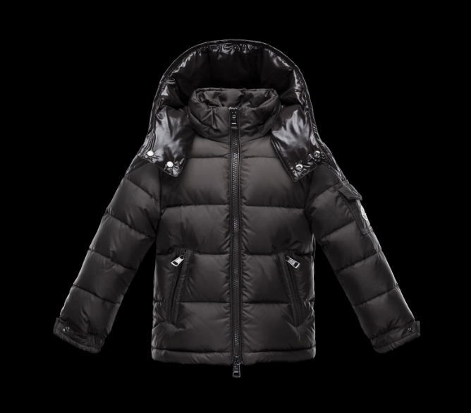 Moncler Enfant Chevalier Kids Jacket Brown