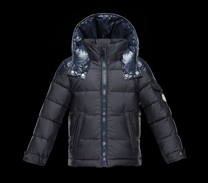 Moncler Enfant Chevalier Kids Jacket Dark Blue