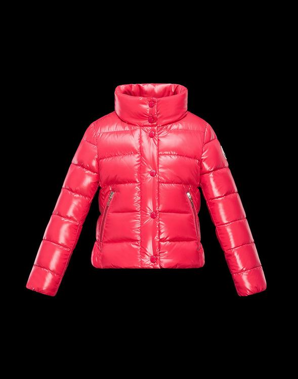 Moncler Enfant Clairette Kids Jacket Red
