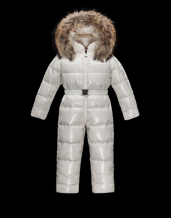 Moncler Enfant Crystal Kids Suits White