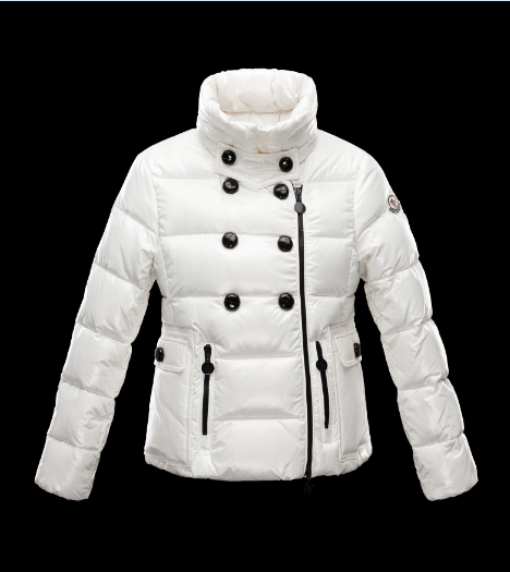 Moncler Enfant Daim Kids Jacket White