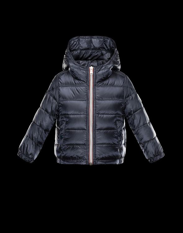 Moncler Enfant Dominic Kids Jacket Dark Blue