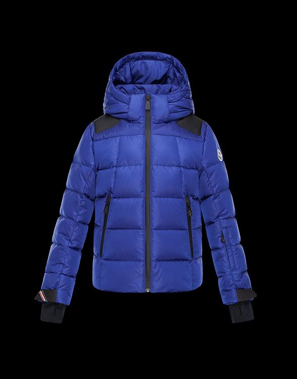 Moncler Enfant Elie Kids Jacket Blue