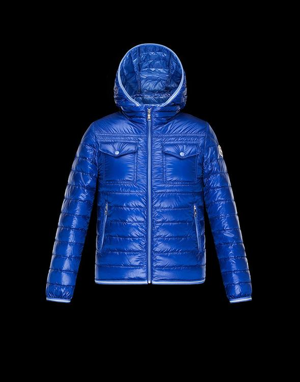 Moncler Enfant Fedor Kids Jacket Royal Blue