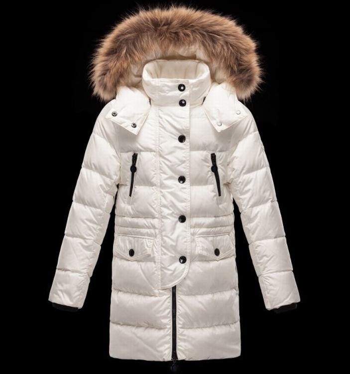 Moncler Enfant Fragon Kids Jacket White