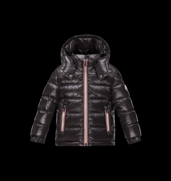 Moncler Enfant Gaston Kids Jacket Dark Brown