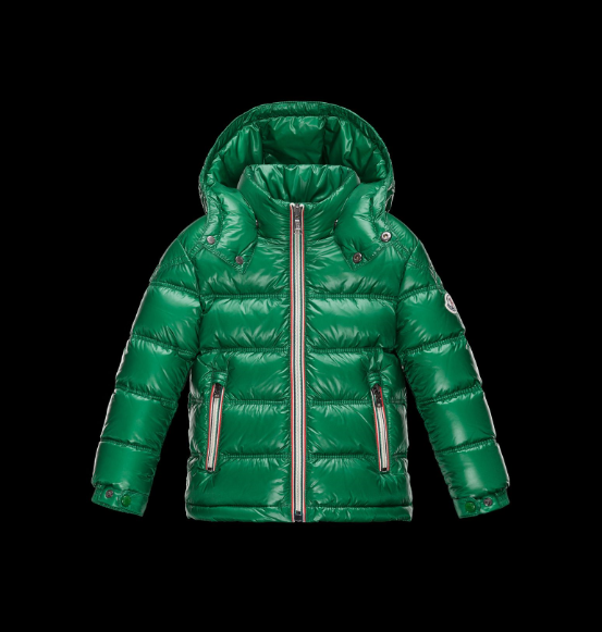 Moncler Enfant Gaston Kids Jacket Green