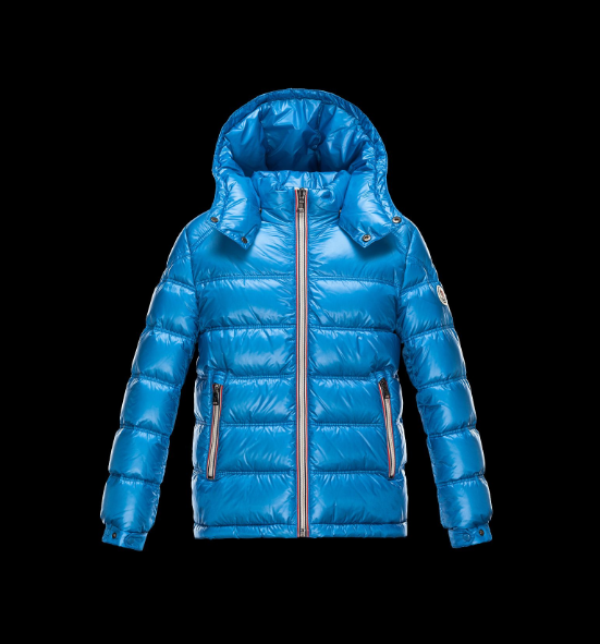 Moncler Enfant Gaston Kids Jacket Sky Blue
