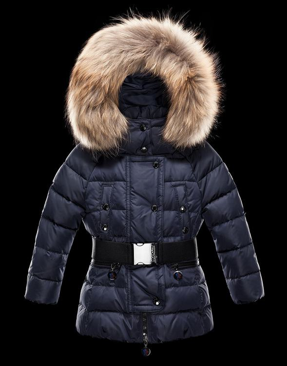 Moncler Enfant Gene Kids Jacket Blue