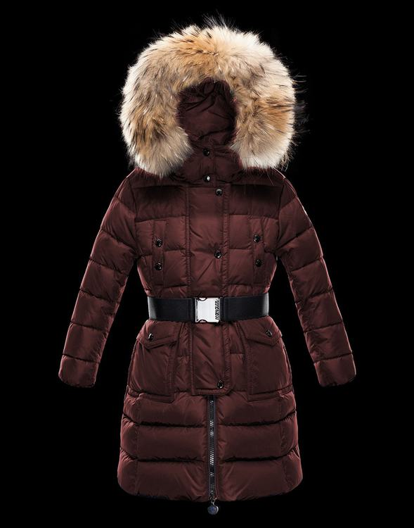 Moncler Enfant Genevrier Kids Jacket Dark Red