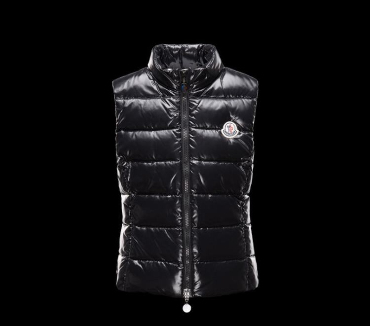 Moncler Enfant Ghany Kids Sleeveless Jacket Black