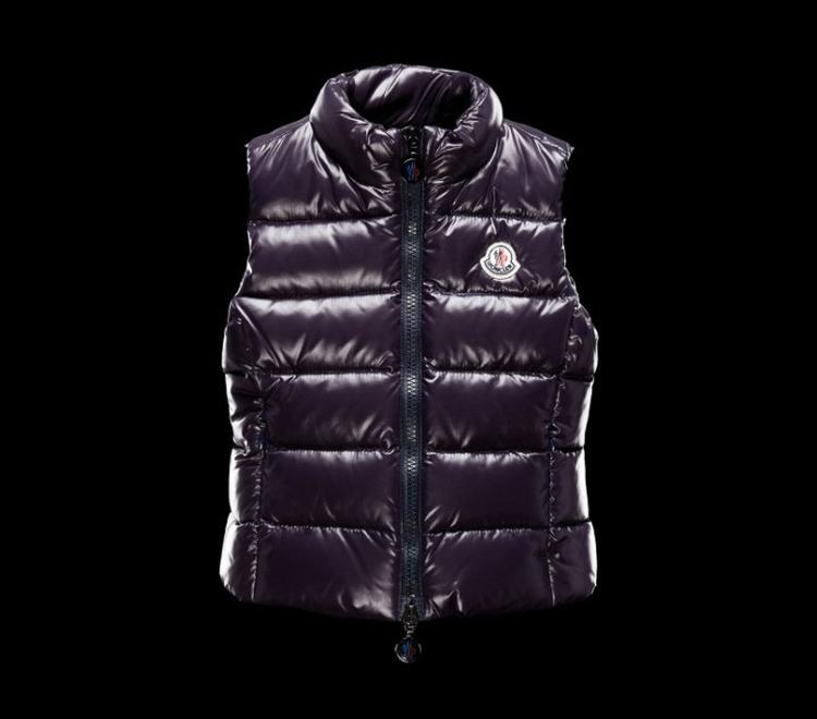 Moncler Enfant Ghany Kids Sleeveless Jacket Purple