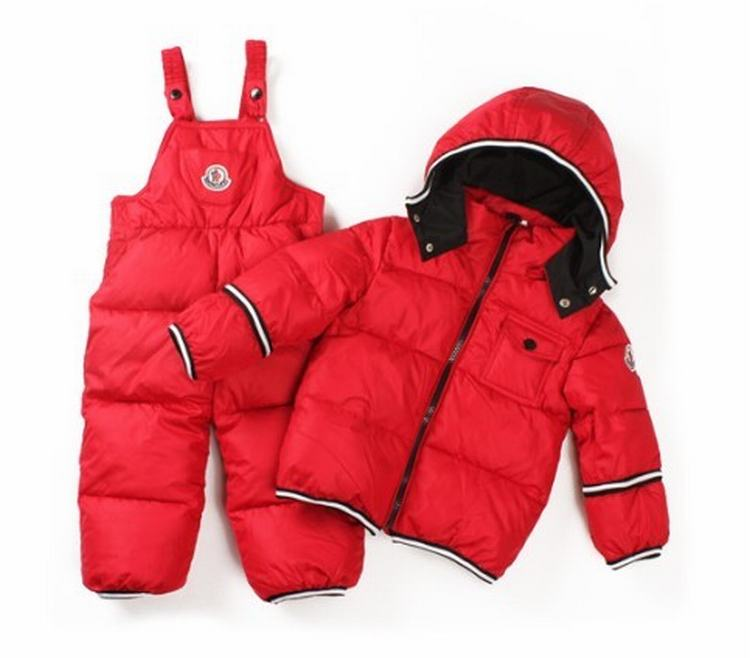 Moncler Enfant Jonas Kids Suits Red
